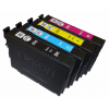 Genuine Epson OEM 200XL/200(T200XL-BCS) High Yield Black & Standard Color C/M/Y Ink Cartridges