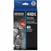 OEM Epson 410XL Photo Black Ink Cartridge (T410XL120), High Capacity