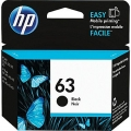 Genuine HP 63 Black Ink Cartridge (F6U62AN)