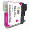 Brother Compatible Lc65m Magenta Ink Cartridge