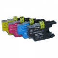 One-set (4pcs) Compatible  Brother Lc75 Ink Cartridges