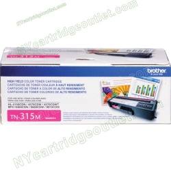 High Yield Brother Tn-315M Tn315M Magenta Toner cartridge (OEM)