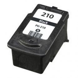 Canon Refubished  PG-210 PG210 Black Ink Cartridge
