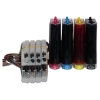 Continuous ink system for Brother LC61 ink cartridges