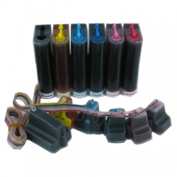 Continuous ink system for HP 02 Ink Cartridges