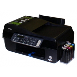 Epson Workforce 323 printer with a Continues Ink System