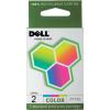 Dell Ink Cartridge 7Y745 Color (OEM)