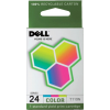 Dell Ink Cartridge T110N Color (OEM)