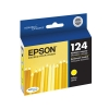 Epson OEM T124 or 124 Yellow Ink Cartridges (T124420)