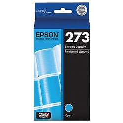 Genuine  Epson 273 Cyan  Ink Cartridges (T273220)
