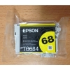 Genuine Epson T068420 T0684 Yellow Ink Cartridge - High Yield