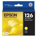 Epson OEM T126 or 126 Yellow Ink Cartridges (T126420)