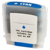 Compatible Hp 12 Cyan Ink Cartridge (C4804A)