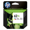 Genuine Hp 62xl Color High-Yield Ink Cartridge (C2P07AN)