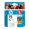 OEM Hp 75 Tri-color Ink Cartridge (CB337WN)