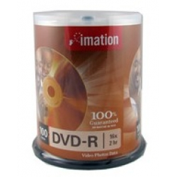 Imation 16X 4.7GB DVD-R 120min Blank Disc 100/pack