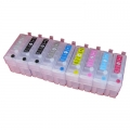 One-set (9 pcs) Refillable Epson 157 Ink Cartridges for R3000 printer