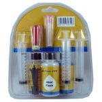 Universal Refill Ink Kit for Color (CMY) Ink Cartridges (120 ml or three bottles)