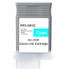 Compatible Canon PFI-101C Cyan Pigment ink cartridge - 130 mL