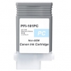 Compatible Canon PFI-101PC Photo Cyan Pigment ink cartridge - 130 mL