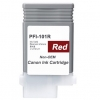 Compatible Canon PFI-101R Red Pigment ink cartridge - 130 mL