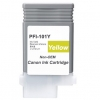 Compatible Canon PFI-101Y Yellow Pigment ink cartridge - 130 mL