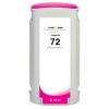 Compatible Hewlett Packard HP 72 Magenta Dye ink cartridge - 130 mL