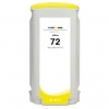Compatible Hewlett Packard HP 72 Yellow Dye ink cartridge - 130 mL