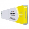 Compatible Mimaki SS21 Yellow Mild Solvent ink cartridge - 440 mL