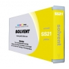 Compatible Mimaki SS21 Yellow Mild Solvent ink cartridge - 220mL