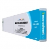 Compatible Roland ESL3-4CY Cyan Eco-Solvent ink cartridge - 440 mL
