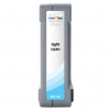 Compatible Seiko Light Cyan Low Solvent ink cartridge - 1000 mL