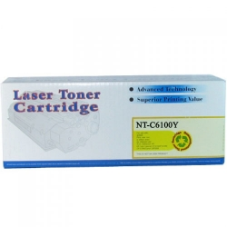Xerox Phaser 6100 Series Compatible 106R00682 Yellow Toner Cartridge